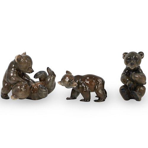 (3 Pc) Rosenthal Porcelain Figurine Lot