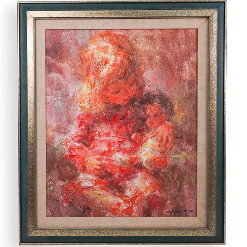 John Naylor, (British, 1928-1997) Oil On Canvas