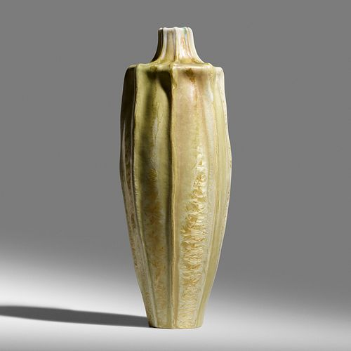 Taxile Doat for University City, Exceptional and Rare gourd vase