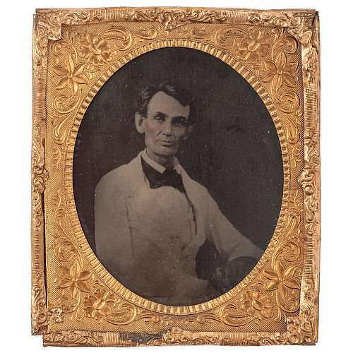 """A Rare Period Tintype of Abraham Lincoln: The """"Beardstown Portrait"""""""