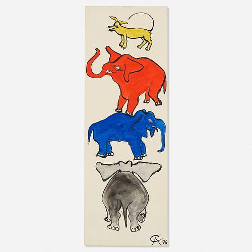 Alexander Calder, Zoo