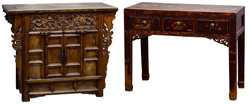 Asian Style Wood Furniture Assortment