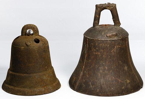 Asian Style Cast Iron Bells