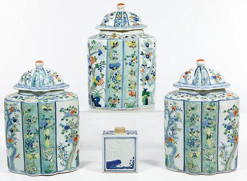 Chinese Tea Caddy Assortment