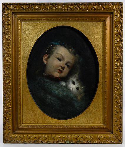 Alphonse Pellett (French, 1853-1926) Oil on Canvas