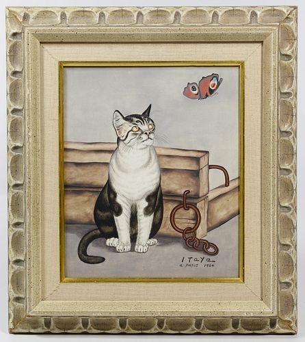 Foussa Itaya (Japanese / French, b.1919) Oil on Canvas
