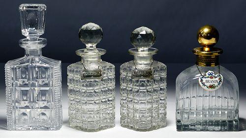 Glass Decanter Assortment