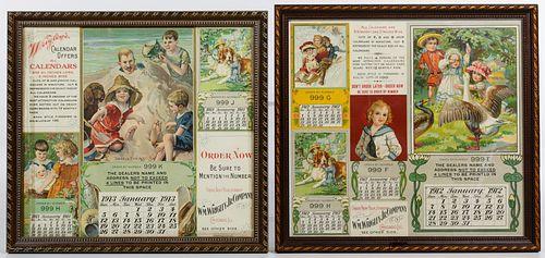 Wrigley Calendar Advertisements