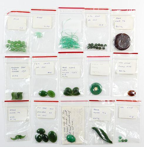 Jadeite Jade Assortment