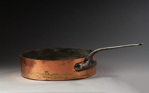 American Extra Large Copper Fry Pan.