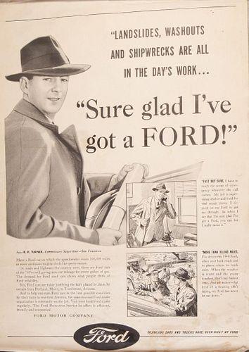 WW II Era Ford Poster.