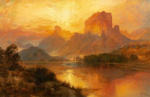 Thomas Moran (1837-1926); Green River, Wyoming (1883)