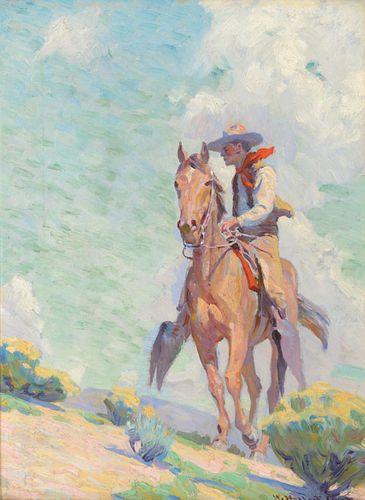 William Herbert Dunton (1878-1936); The Cowpuncher