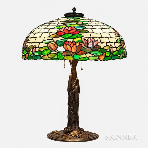Duffner & Kimberly Water Lily Table Lamp