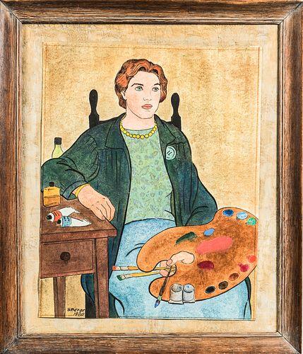 Stephens Berge (American, 1908-1988)      Dolly