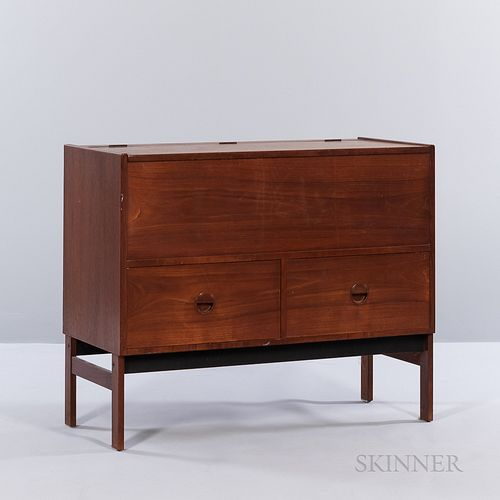 Lift-top Chest over Drawers