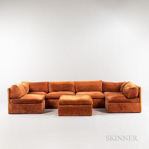 Milo Baughman (American, 1923-2003) for Thayer-Coggin Sectional Sofa