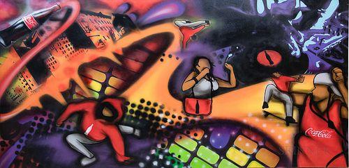 Coca-Cola Graffiti Art Promotional Piece