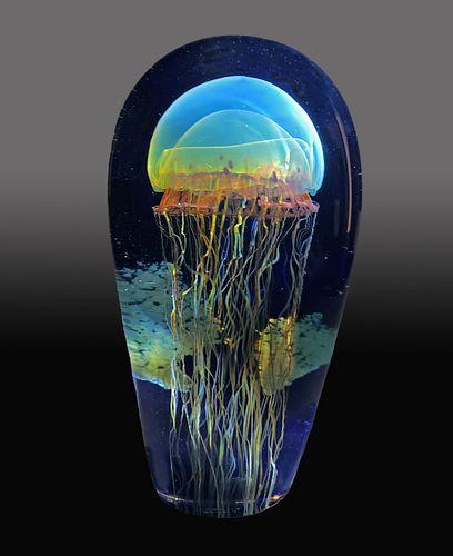 RICHARD SATAVA, Moon Jellyfish Seascape