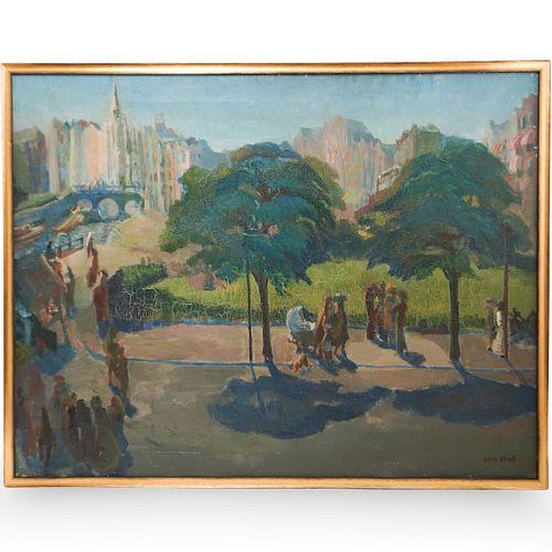 Leon Kroll (American 1884-1974) Oil on Canvas