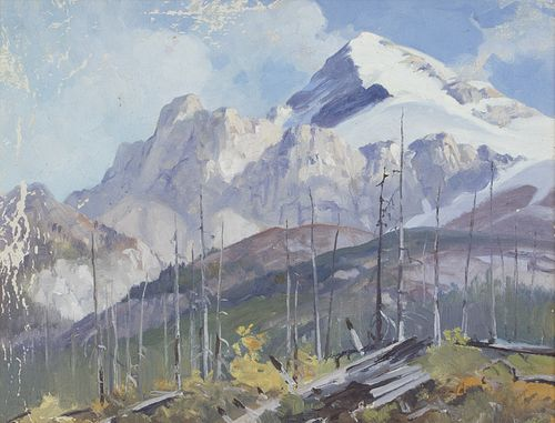 George Browne (1918-1958)  Rocky Mountains