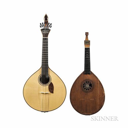 Cittern and Portuguese Guitar