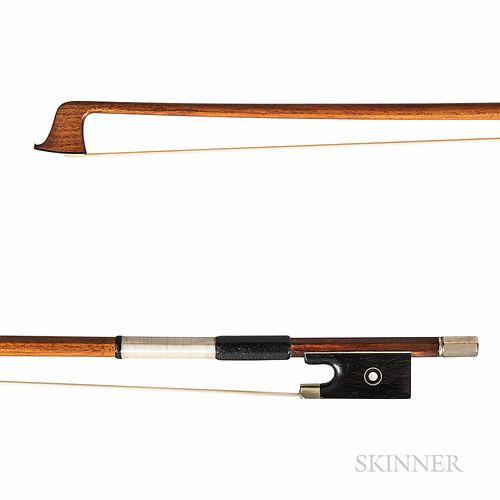 Nickel-mounted Violin Bow