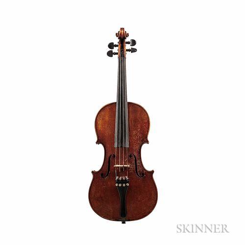 German Violin, Hermann Geipel, Markneukirchen, 1935