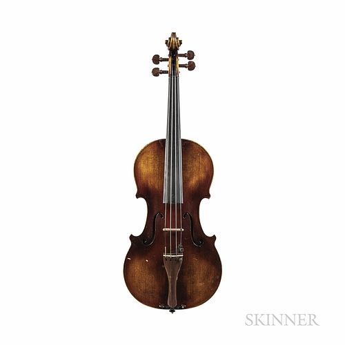 American Violin, David M. Waltersdorff, Thomasville, 1981