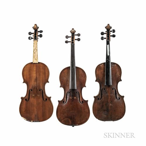 Three German Violins