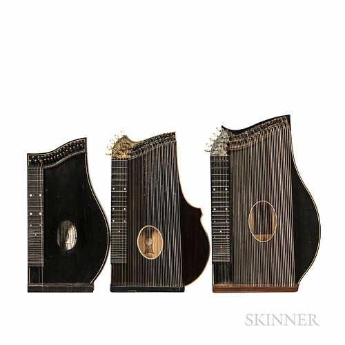 Three Concert Zithers