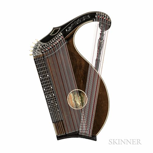 German Alpine Zither, Adolf Meinel, Markneukirchen