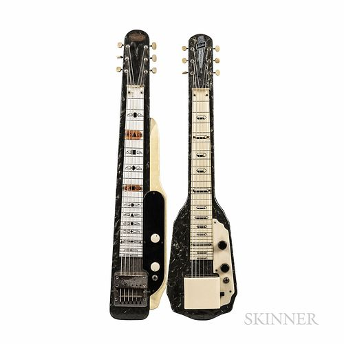 Two Valco Lap Steel Guitars, c. 1955-58