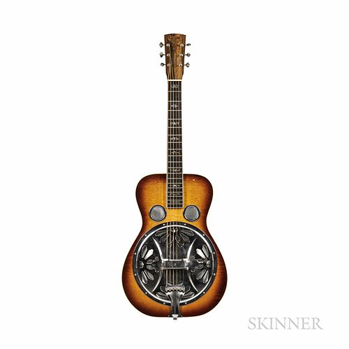 Crafters of Tennessee Tut Taylor Virginian Resonator Guitar, 2001