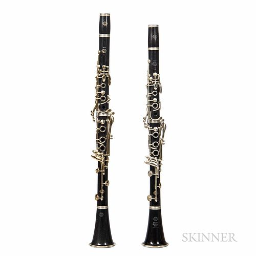 Two Clarinets, Selmer, c. 1950