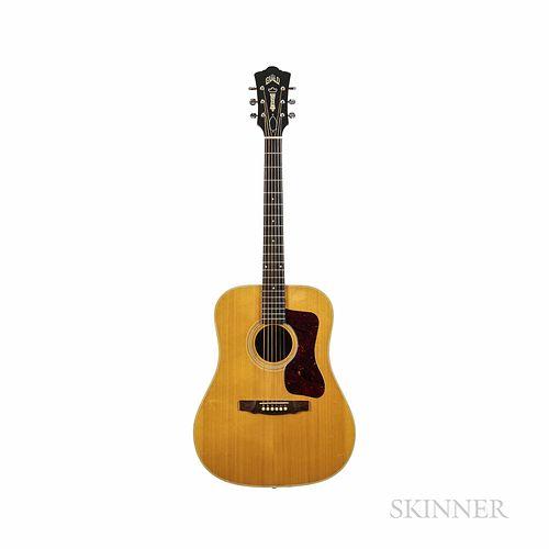 Guild D44 Acoustic Guitar, c. 1970