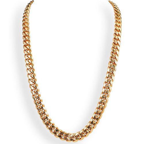 Heavy 14k Gold Cuban Link Chain