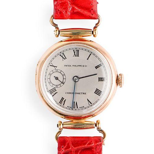 18k Gold Patek Philippe Converted Pocket Watch