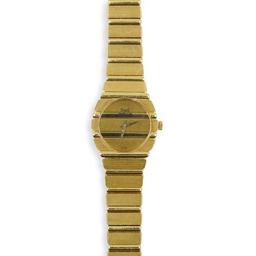 18k Piaget Polo Ladies Watch