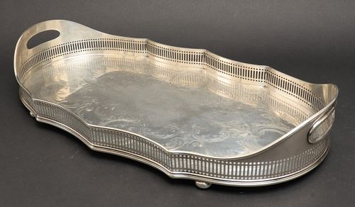 Gorham Sterling Silver Serving Tray, 1912
