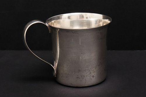 Cartier Sterling Silver Handled Cup
