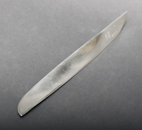 Enzo Mari Italian Modern Silver Letter Opener