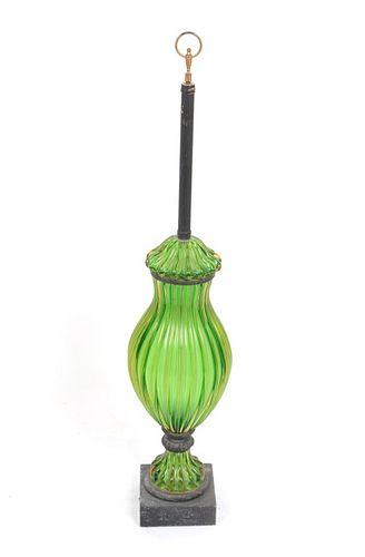 Seguso for Marbro Monumental Murano Glass Lamp