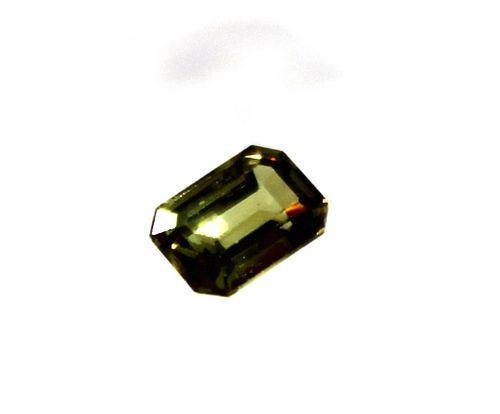 0.70 ct. Loose Emerald-Cut Green Zircon Stone