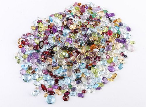 300.7 cttw. Loose Mixed-Cut Multicolored Gemstones
