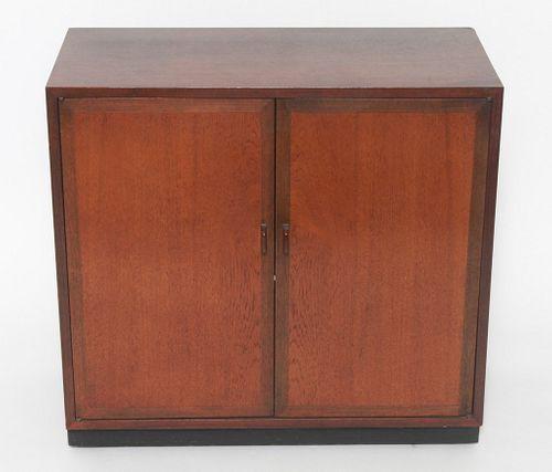 Danish Mid-Century Modern Two Door Cabinet