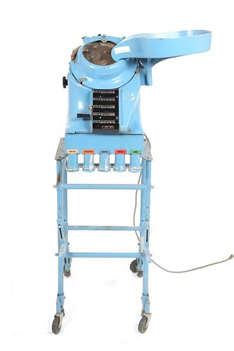 Standard Johnson Co. Coin Sorting Machine Model F1
