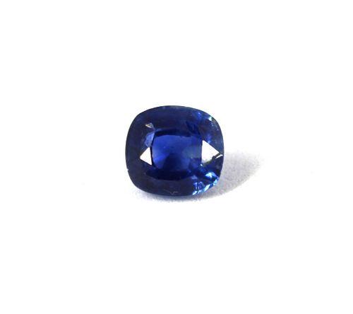 2.32 ct. Loose Cushion-Cut Blue Sapphire