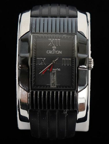 Croton Stainless Steel Automatic Watch