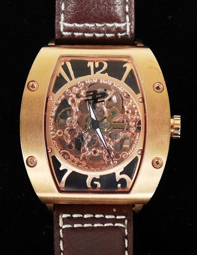 32 Degrees Stainless Steel Skeleton Watch